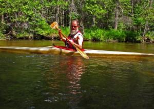 Adam Kennedy on the Boyne River