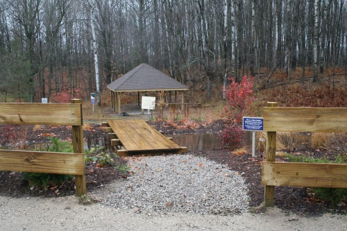 Entrance to Boyne River Nature Center