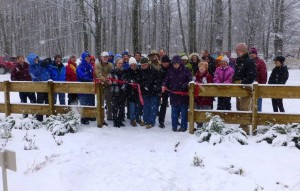 It's official! The Boyne River Nature Area is open!