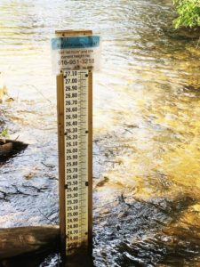 Water Gauge with Texting Info